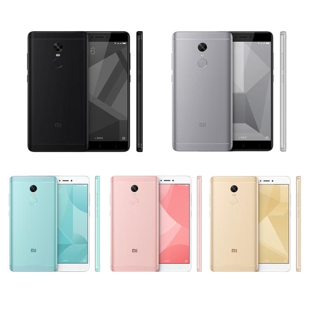 Original Xiaomi Redmi Note 4X 4 X Mobile Phone Snapdragon 625 Octa Core 5.5″ FHD 3GB RAM 32GB ROM 13.0MP Camera Fingerprint ID