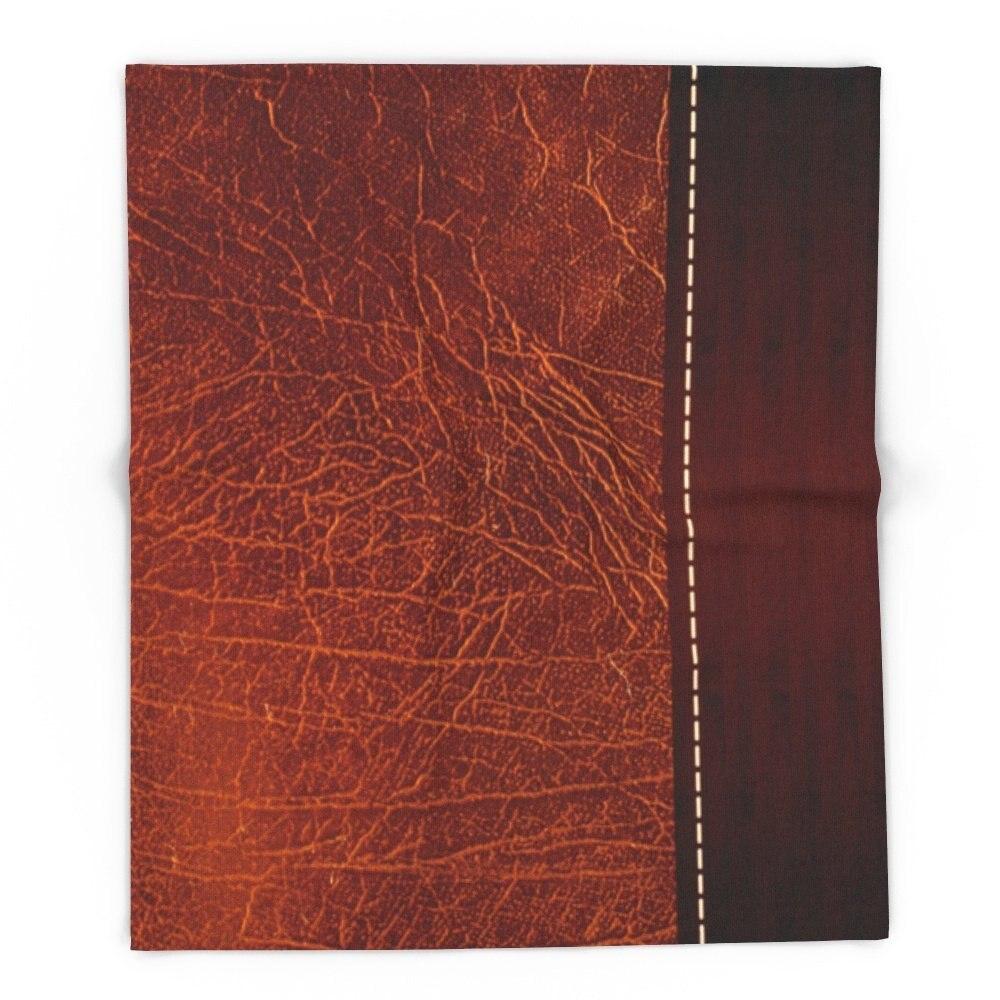 Коричневый из искусственной кожи #2 88 х 104 Одеяло Пледы на диван-кровать плоскости пледы, покрывала Домашний Текстиль