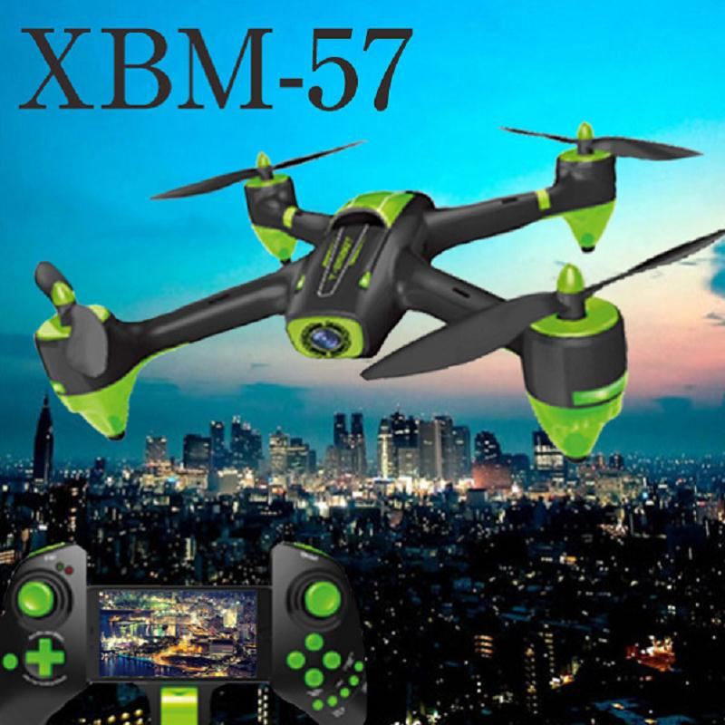 2017 newest profession drone XBM-57 2.4G 4CH 6AXIS Wifi fpv RC Quadcopter Headless Mode RC UFO Drone with 720P Wide Angle camera