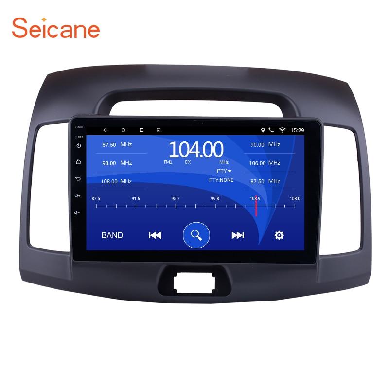 Seicane Car Radio Head Unit For 2007 2008 2009 2010 2011 Hyundai Elantra 2Din 9