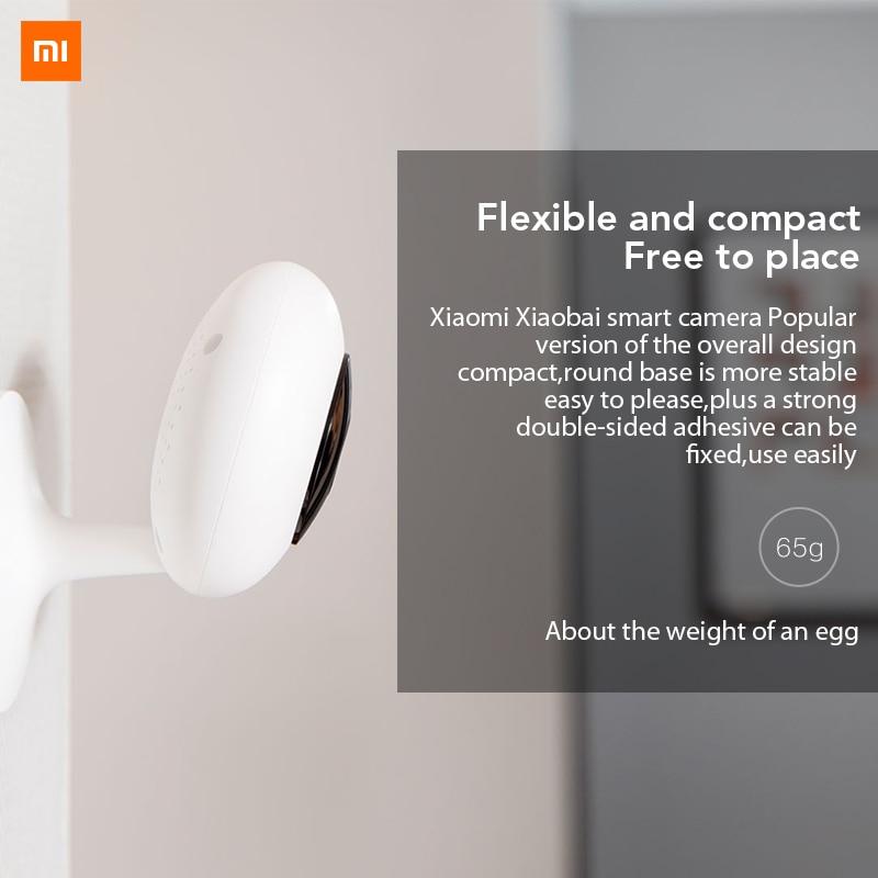 Xiaomi Mijia Xiaobai Smart Camera Popular Version 720P 1080P HD Wireless Wifi Infrared Night Vision 100.4 Degre IP Home Cam CCTV