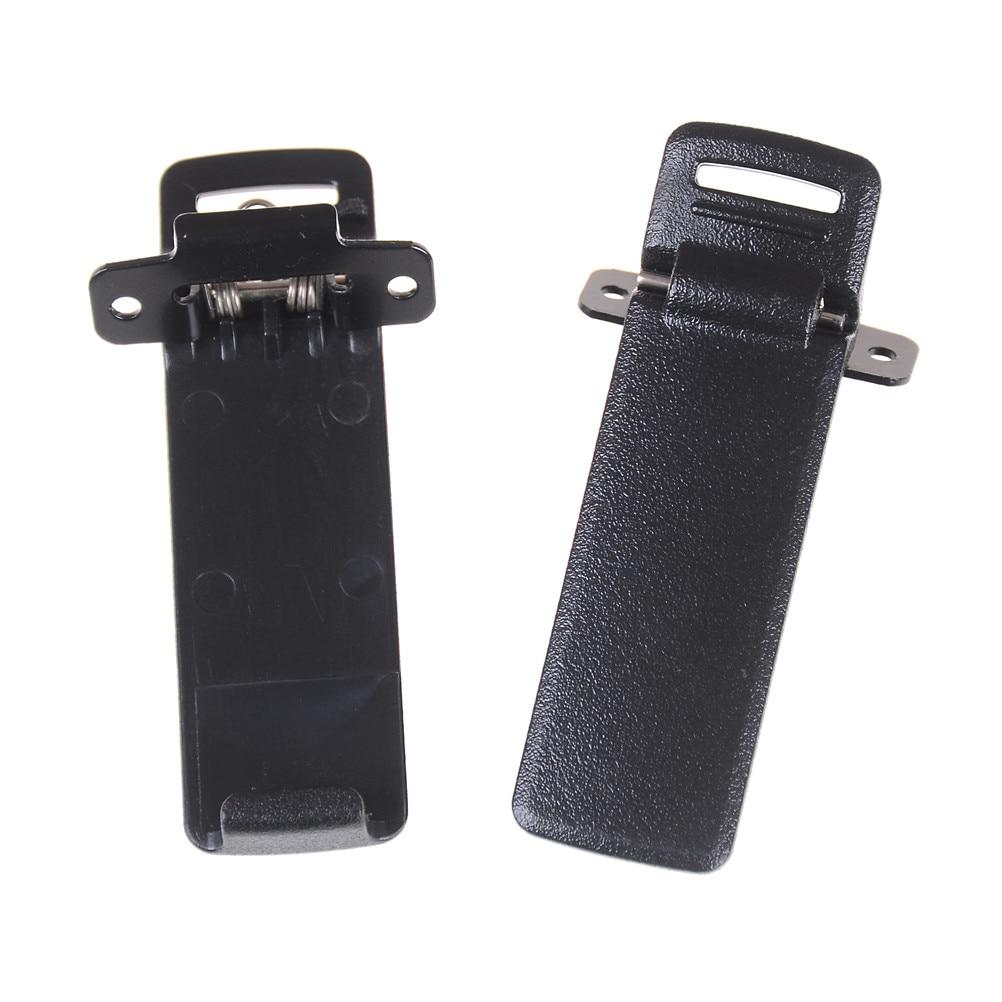 2x Walkie Talkie Spare Part Back Belt Clip For Baofeng UV-5R 2-way Radio UV5R US