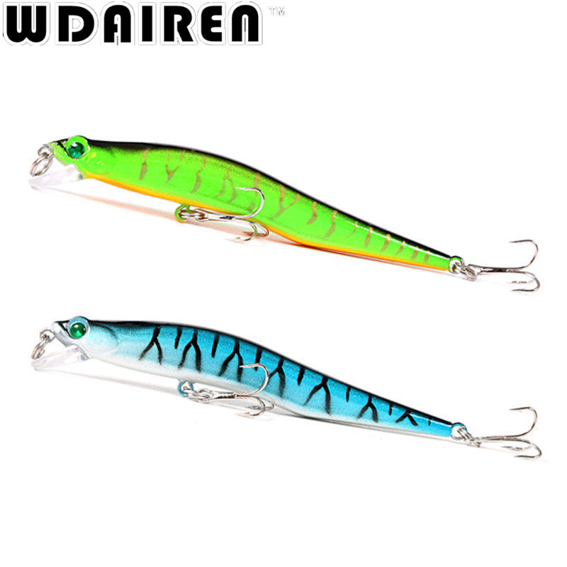 1Pcs 12cm 10g Minnow Fishing Lure Wobblers Crankbait artificiais para pesca Japan Hard Bait Swimbait fishing tackle NE-214 1pcs 12cm 11 5g fishing lure bass bait minnow lures 6 hook iscas artificiais para pesca crankbait fishing tackle zb34