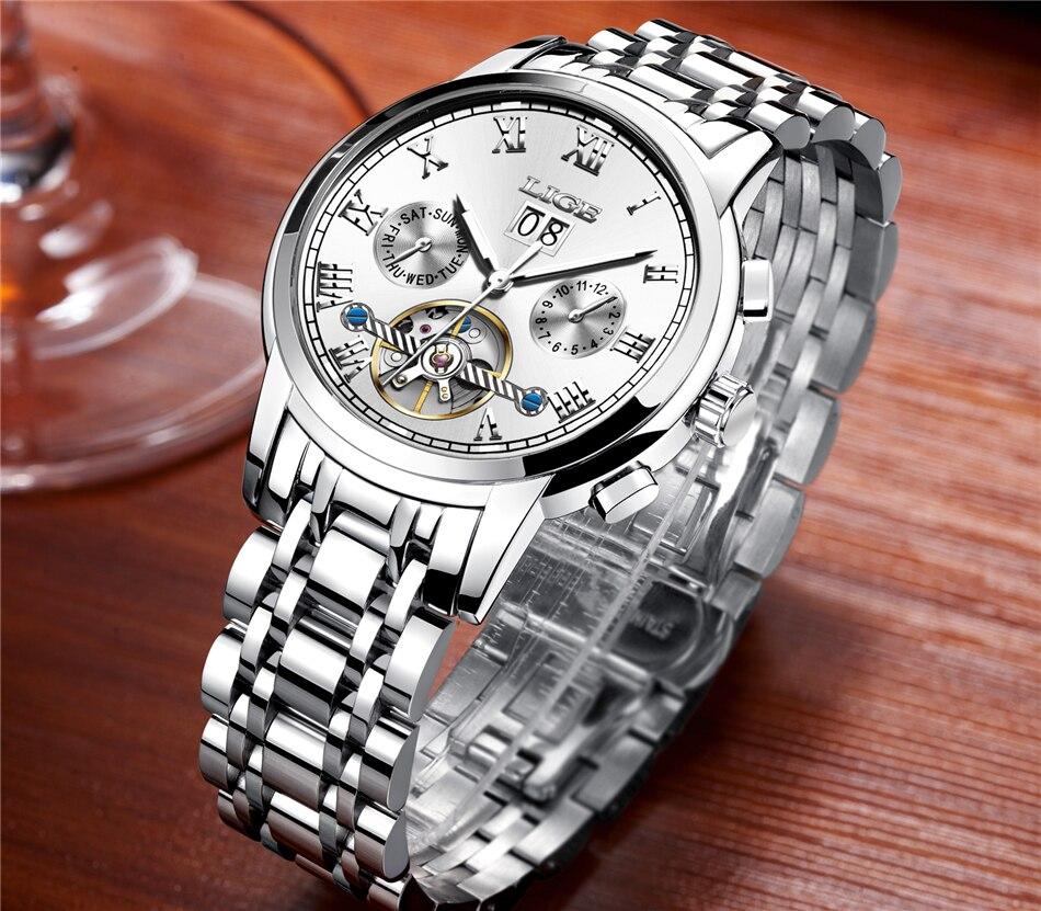 HTB1JXOaVMHqK1RjSZFEq6AGMXXa2 Mens Watches Top Brand LIGE Fashion Luxury Business Automatic Mechanical Men Military Steel Waterproof Clock Relogio Masculino