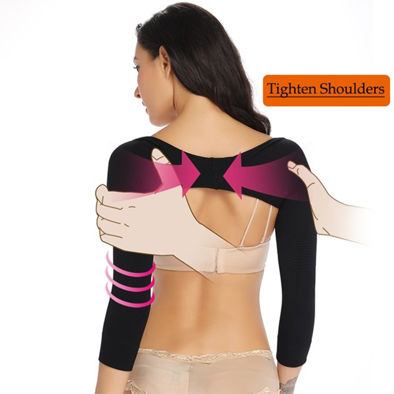 Women Arm Shaper Back Shoulder Humpback Posture Corrector Arm Control Shapewear