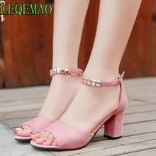 a899e8f9e4d De metal Cadena de verano de las mujeres sandalias de Punta abierta zapatos  de mujer Sandalias