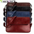 Women Girl Real Leather Coin Purse Cell Phone Pouch Wallet Shoulder Bag Messenger Crossbody Clutch Bag Handbag