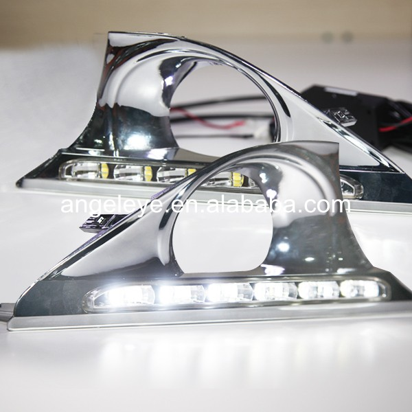 New Camry 6 pcs LED Daytime Running Light For Fog Light 2012-2013 year