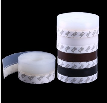 5Meters/Lot Self Adhesive 3M Glue Door Window Draught Dust Insect Seal Strip Soundproofing Weatherstrip