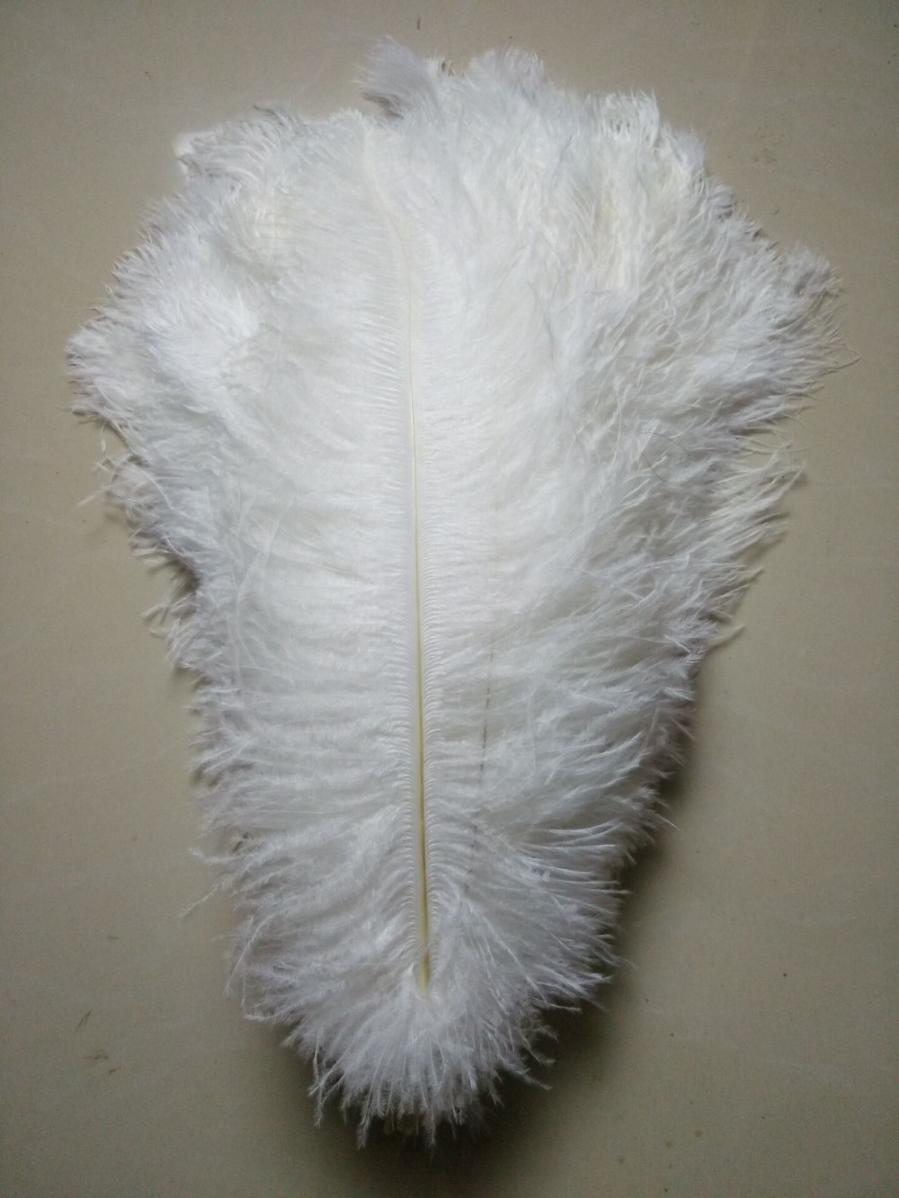 50 pc quality white ostrich feathers 16 18inches 40 45cm DIY wedding decorations