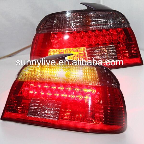 Us 2600 Dla Bmw E39 5 Serii 528i 540i Tylna Lampa Led 1997 2000 Rok Czerwony Czarny Kolor Lf W Dla Bmw E39 5 Serii 528i 540i Tylna Lampa Led