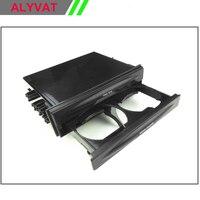 Uno Din Auto Universale Radio CD Refitting Pocket Stereo Dash Montaggio Installazione Trim Fascia Kit Cassetto Con Drink Cup Holder