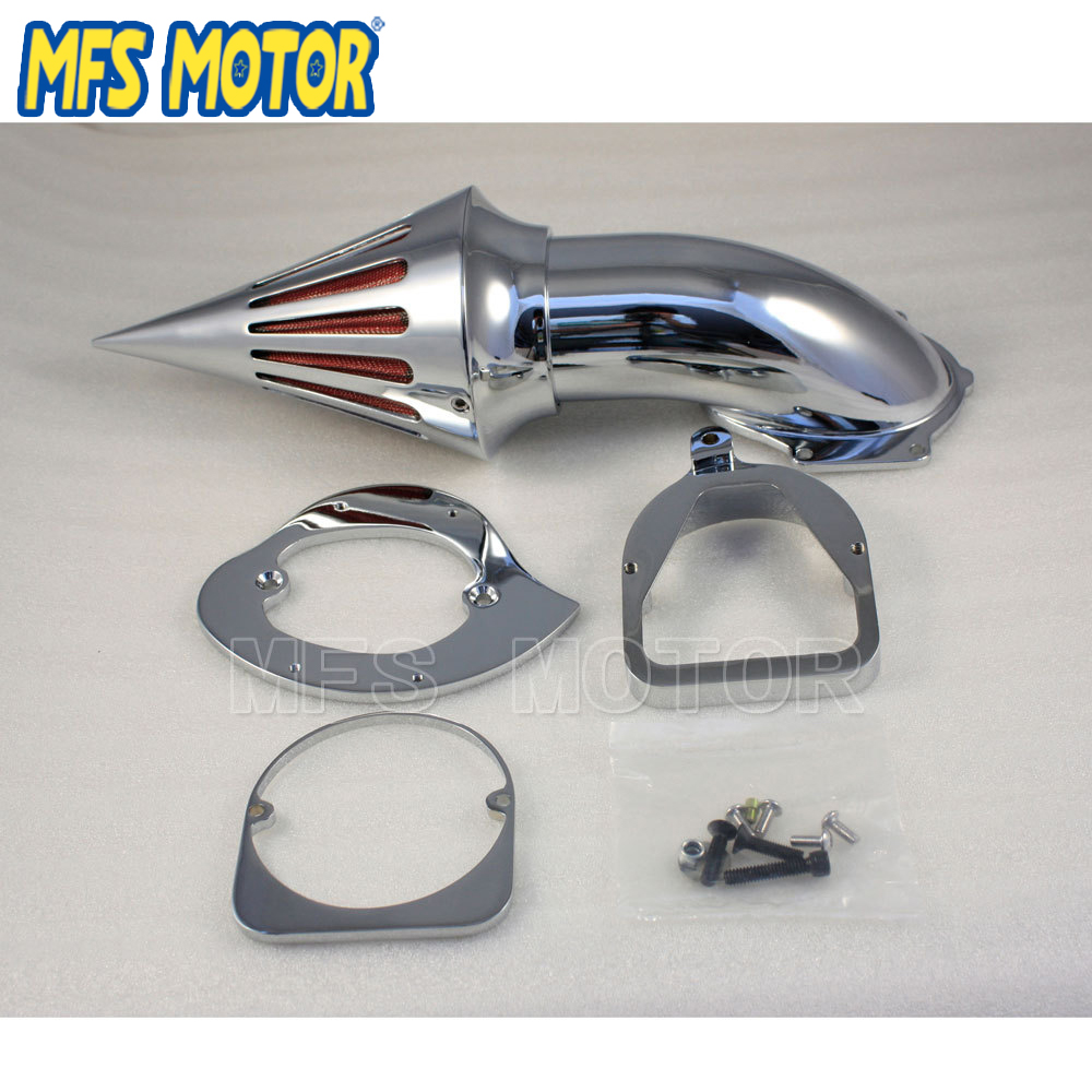 Motorcycle Chrome Air Cleaner Kits Spike Filter for Honda 1998 up Shadow Spirit ACE 750 in Air Filters Systems from Automobiles Motorcycles