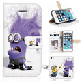 Cubierta infinite BTD, secuaces divertidos Play Game 5S Case para iphone 5 5S película de pantalla P038-5G