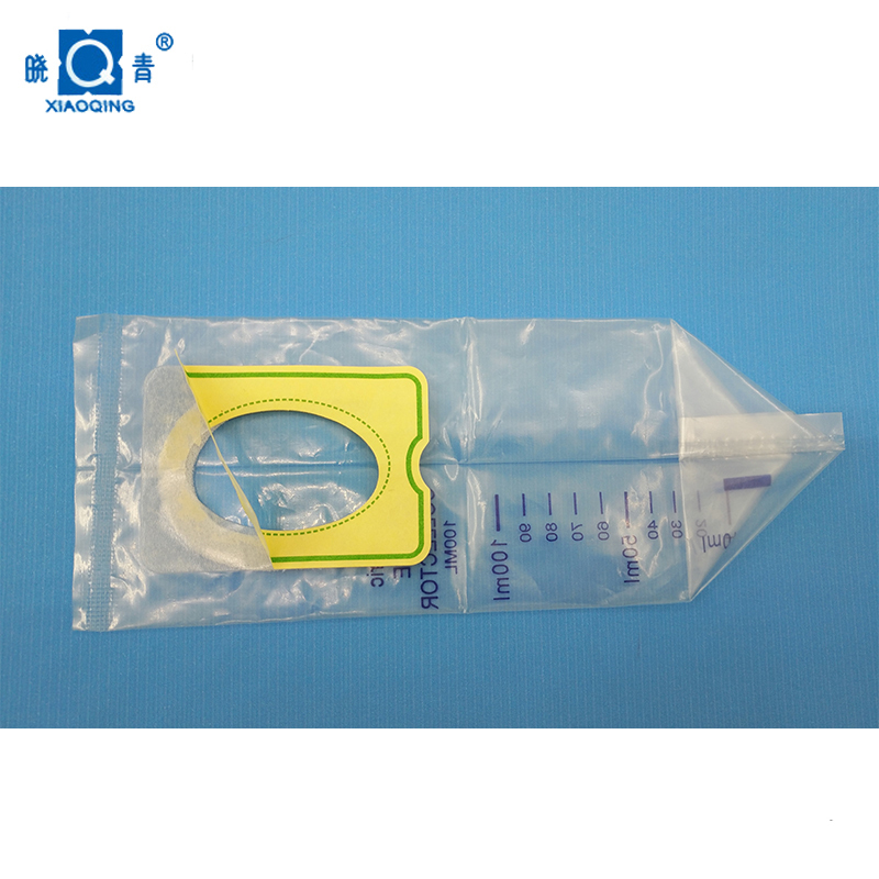 100 pcs disposable pediatric collector one time baby use urine bag 100ml 50 pcs 25mm 30mm 35mm40mm male external catheter single use disposable collector latex urine pick urinal bag