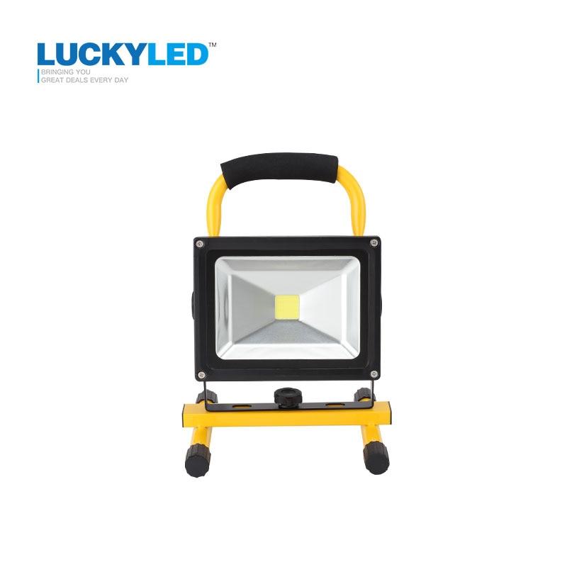 LUCKYLED 10W 20W Floodlight Lámpara de luz de inundación recargable - Iluminación exterior - foto 2
