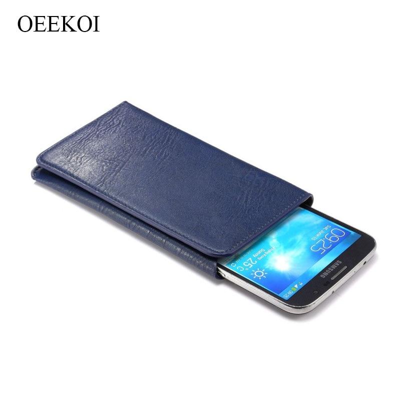 OEEKOI Universal Elephant Pattern Leather Wallet Sleeve Pouch Case for ZTE Grand X Pro/X2 IN/Era U985 4.5 Inch