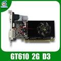 Cartões de exibição vga nvidia geforce gt610 2 gb ddr3 64bit