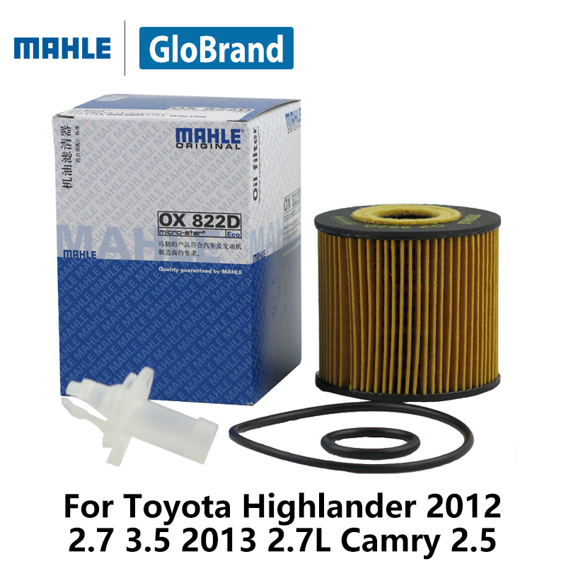 2012 Toyota Highlander Limited: Aliexpress.com : Buy MAHLE Car Oil Filter OX822D For