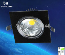 цена на 2018 Real Ceiling Lamp 20pcs/lot Square Led Cob Downlight With Epistar Power Led, 500lm, Ip20, Oem Orders Are Welcome, Ce, Rohs