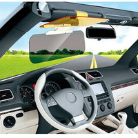 HD Car Sun Visor Auto Anti Dazzling Goggle Day Night Version Mirrors Vehicle Clear View Dazzling