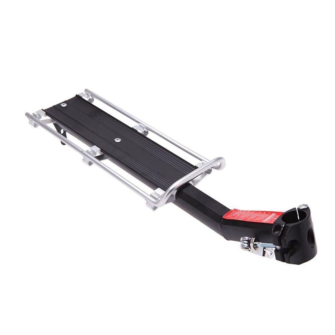 MTB Della Bicicletta Carrier Rack Sedile Posteriore Scaffale In Lega di Alluminio Esterno