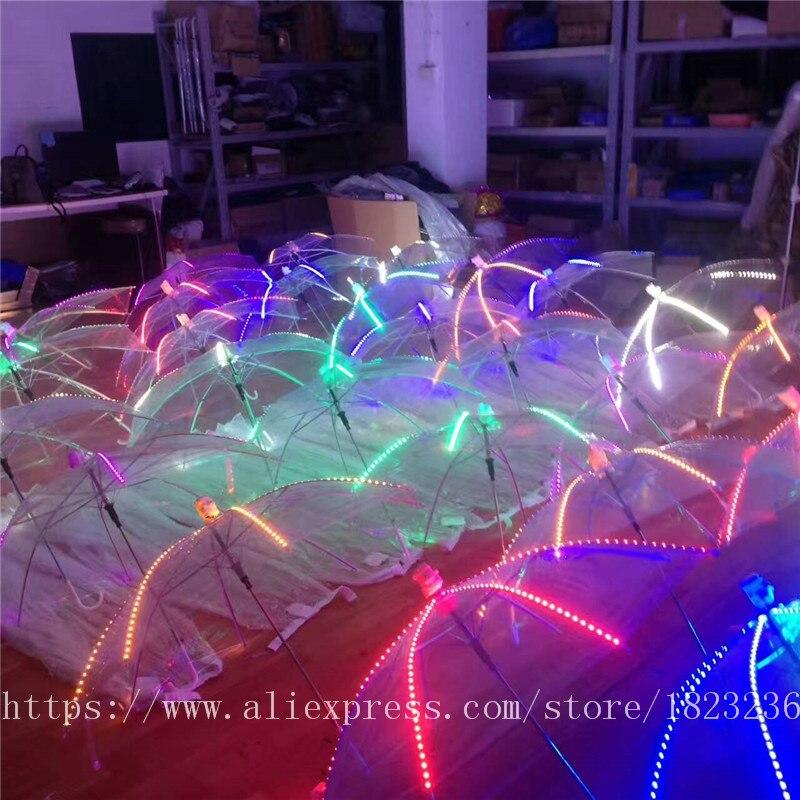 2019 Новый высокое качество Цвет лазерные перчатки Хэллоуин бар, ночной клуб Stage Show светящиеся очки перчатки реквизит вечерние Одежда для тан... - 2