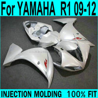 Abs fairings For YAMAHA R1 2009 2010 2011 2012 2013 Fairings ( pearl white ) yzfr1 Injection Fairing kit XP59