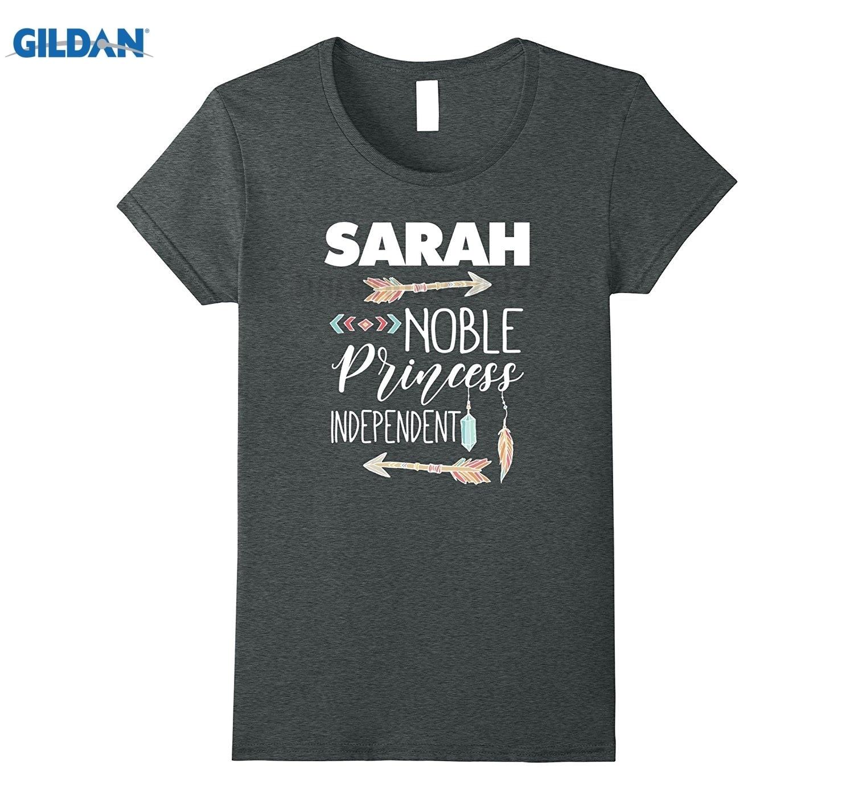 GILDAN Sarah Birthday T-Shirt for Girls and Ladies Named Sarah