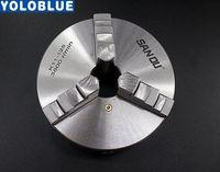 3 mandril 80mm 100mm 125mm 130mm 160mm 200mm mm auto centralização do mandril do metal cnc ferramenta de metalização|Mandril|   -