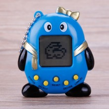 Для творчества разные цвета Пингвин 90S Ностальгический тамагочи электронные питомцы 168 Домашние животные в One виртуальный кибернетический питомец игрушка весёлые детские подарки