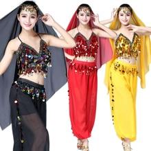 Adult Bellydance Costumes for Women 3 pieces Suit Indian Bel