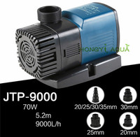 1 piece high quality water pump submersible pump for aquarium SUNSUN JTP 9000 70W 9000L/H quiet hydroponics Pond bomb