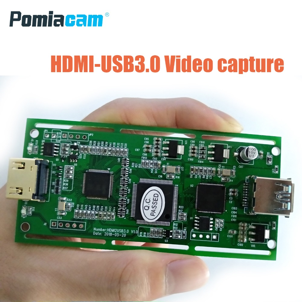 VC30 USB3.0 1080P 60FPS Capture Card Box Board  HDMI-IN Video Capture Board  For Windows Linux IOSX Android System