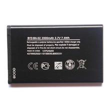 купить Original High Capacity BN-02 phone battery for Nokia XL 4G RM-1042 RM-1061 RM-1030 BN-02 2000mAh дешево
