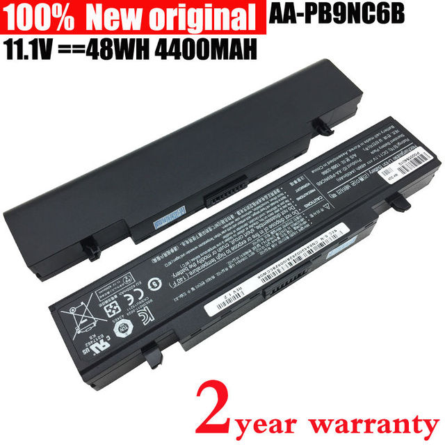 SZTWDone Original Laptop Battery for SAMSUNG R580 R540 R530 R429 R520 R428 R522 R528 R420 R425 R780 R525 AA-PB9NC6B AA-PB9NS6B