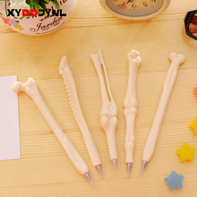 2 Pcs Novelty Ballpoint Pens Bone Shape Creative Gift School Office Stationery Doctor Nurse Student Stationery Writing Supplies