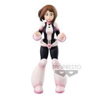 Tronzo Original Banpresto My Hero Academia Age of Heroes AOH URARAKA OCHACO PVC Action Figure Anime Figural Model Doll Toys