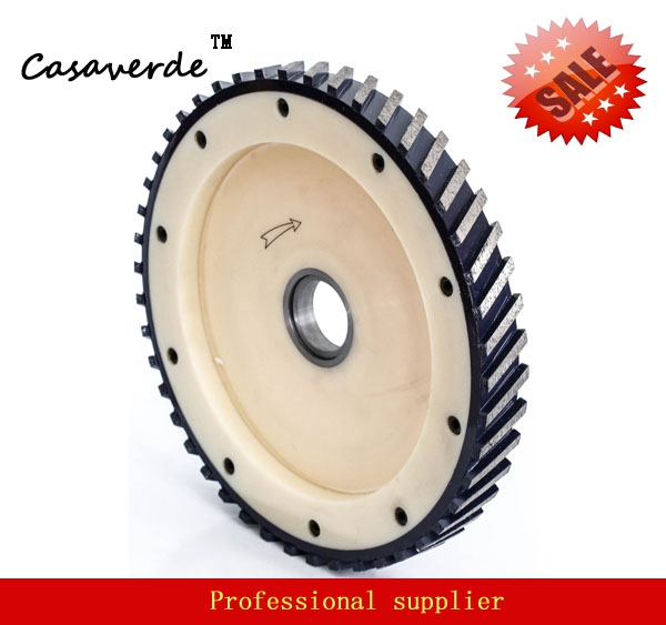 DC-SGW16 D400mm 16 Inch With Segment 40mm Silent Diamond Milling Wheels For Granite And Marble