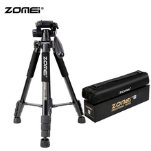 ZoMei Q222 Camera Tripod & Monopod Portable Travel SLR DSLR Stand with 3-Way Pan Head and Carry Bag for Nikon Canon Sony