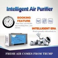 1 unid Navidad regalos nueva llegada 2014 ozono purificador de aire doméstico ozono agua tcb-135