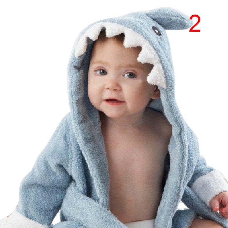 Rational Nette Baby Kleidung Jungen Mädchen Roben Cartoon Bademantel Nachtwäsche Robe 9 Stil Verschiedene Stile Babykleidung Jungen Mutter & Kinder