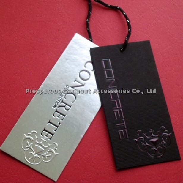 many different templates to choose free design moq 200pcs hang tag