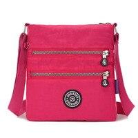 JINQIAOER Women Messenger Bags Waterproof Nylon Crossbody Bags For Women Bag Ladies Mini Designer Shoulder Bags