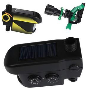Image 3 - UPGRADED Solar powered Motion Activated Animal Repeller Garden Sprinkler Scarecrow,Animal Deterrent