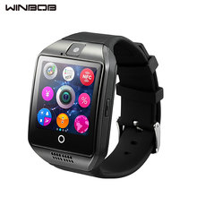 WINBOB Q18 Wearable Devices GT08 DZ09 GT88 Smart Watch Electronics Wristwatch For huawei Samsung Phone Android