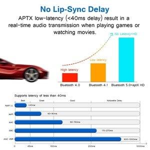 Image 3 - VIKEFON 80m ארוך צלצל Bluetooth 5.0 אודיו מקלט משדר עוקף Aptx HD השהיה נמוכה CSR8675 AUX אופטי אלחוטי מתאם