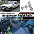 Car Accelerator Pedal Pad / Cover of Original Factory Sport Racing Model Design For BMW 3 Series E30 1982~1993 Tuning
