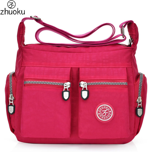 da79cf6484ef US $27.5  ZHUOKU New Women Messenger Bags for Women Waterproof Nylon  Handbag Female Shoulder Bag Ladies Crossbody Bags Femmen De 755 LX724-in ...