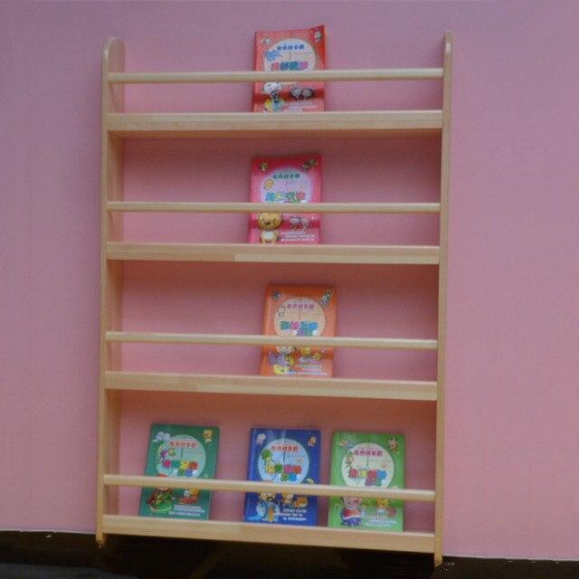 goedkope kinderen creatieve muur krantenrek tijdschriftenrek planken hout plank prentenboek plank boekenkast kinderen muur